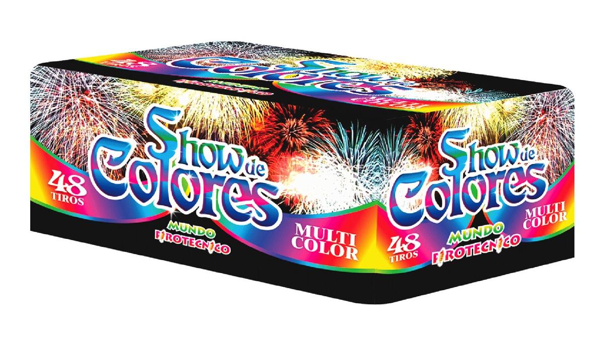 Show de Colores Multicolor 48 Tiros