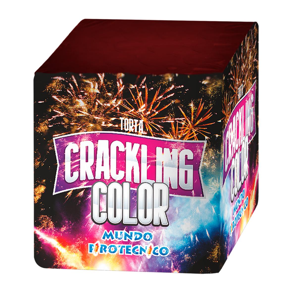 Torta Crackling Color 25 tiros