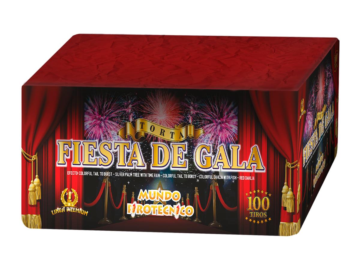 Torta Fiesta de Gala 100 tiros