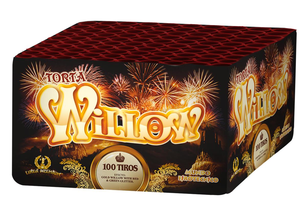Torta Willow 100 Tiros