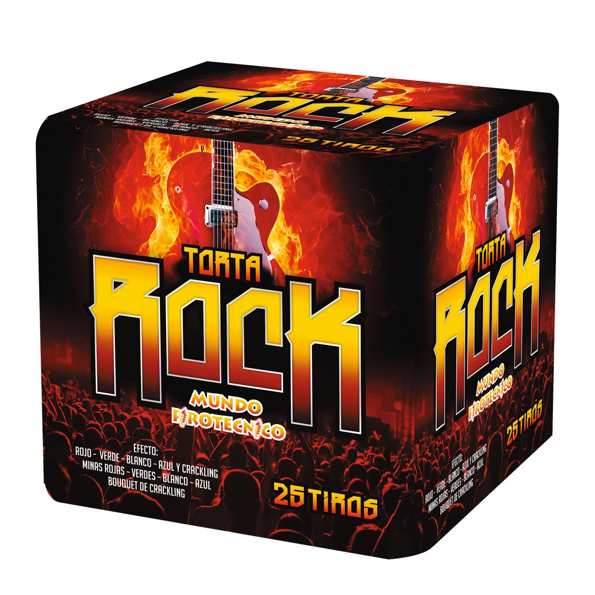Torta Rock 25 Tiros