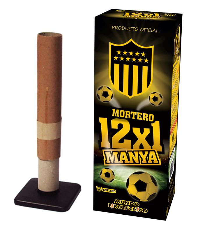 Mortero 12x1 Manya
